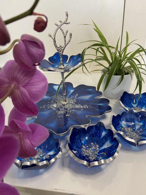 Mavi&Gümüş Sunum takım